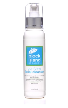Block Island Organics Purifying Facial Cleanser